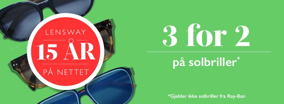 3 för 2 på solbriller